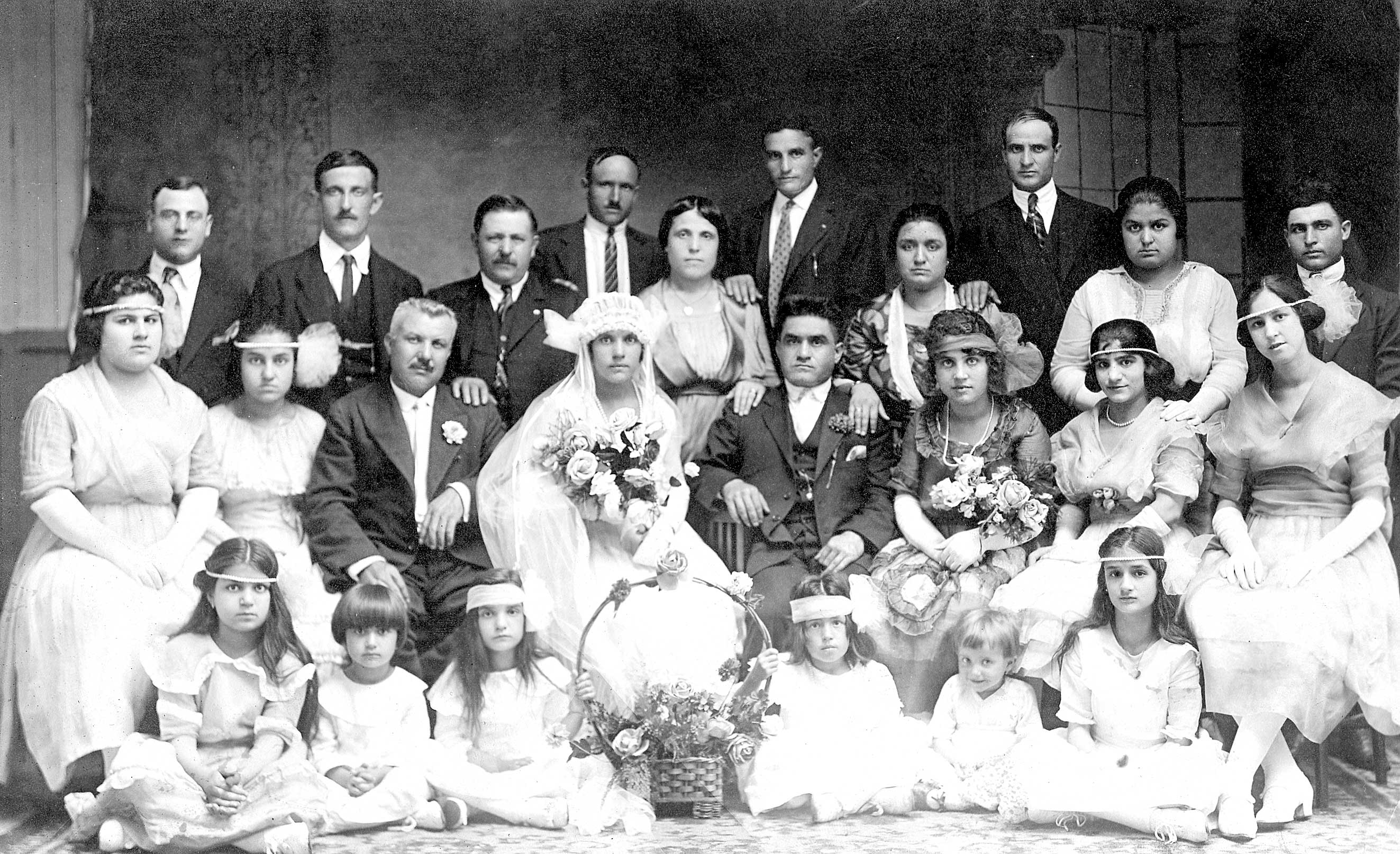 Marriage of Francesco Orlando & Giorgina delCalzo (1921)